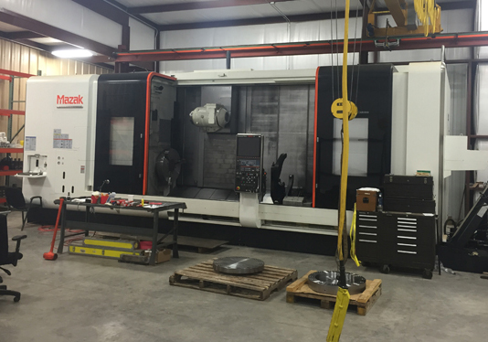 Mazak Intergrex e670H (5-Axis machine)